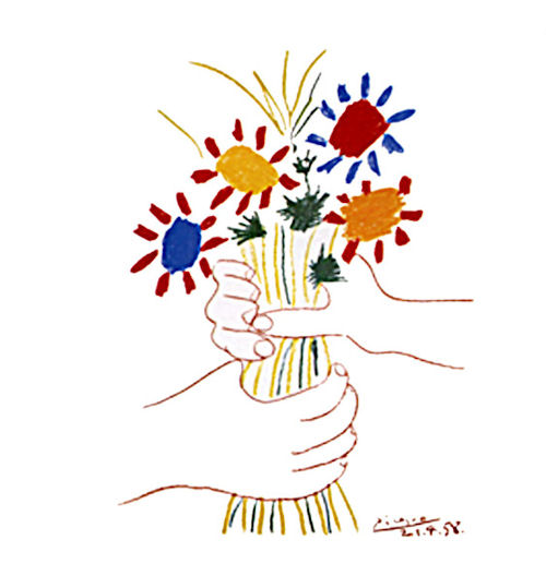 pablo-picasso-flower-bouquet