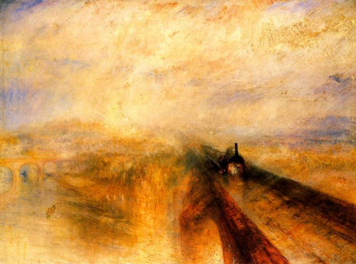 Rain Steam and Speed the Great Western Railway by Turner