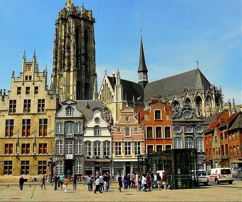 Belgium-Mechelen-Cathedral