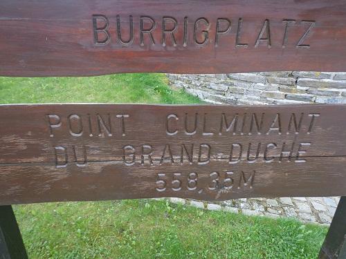 najwyższy szczyt Luksemburga