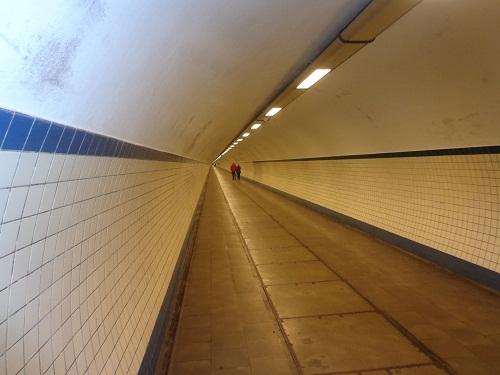 Tunel pieszy pod Skaldą