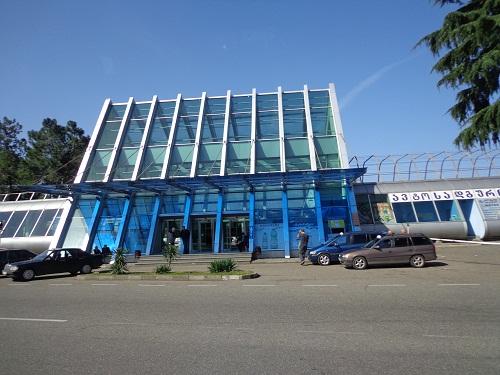 dworzec w Batumi w dzień