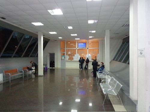 poczekalnia i kasy w Batumi