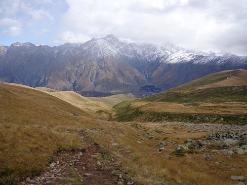 trasa na Kazbek