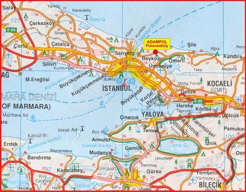 mapa adampol