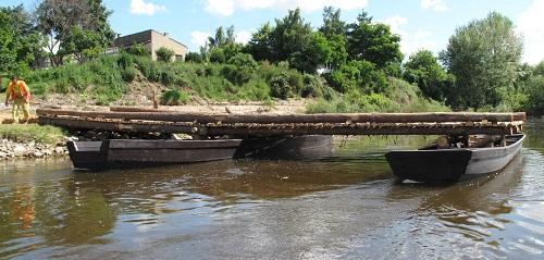 replika mostu Jagiełly