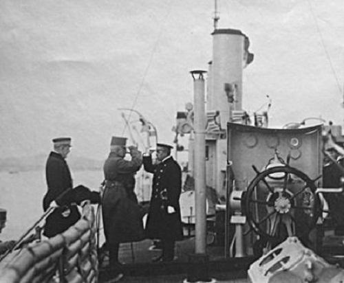 12 czerwca 1915 na mój okręt przybył następca tronu, arcyksiążę Karol Franciszek Józef.
