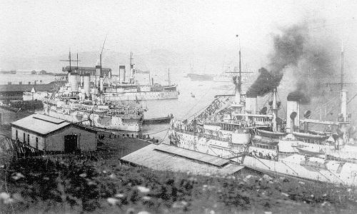 Sevastopol&Poltava&Petropavlovsk1901-1903Port-Artur