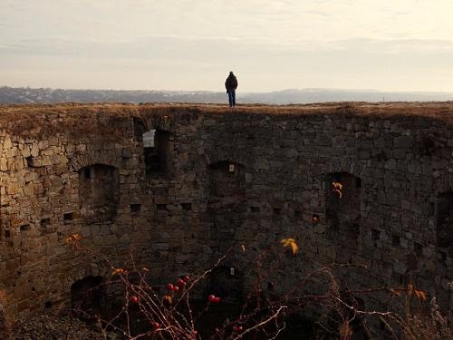 Trembowla - mury współczesne