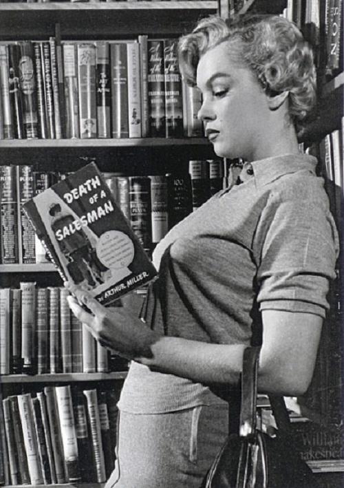 MarilynMonroe_book_01 śmierć komiwojażera