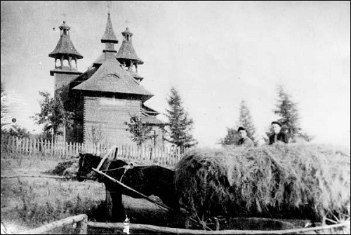 kościół w Ostryni