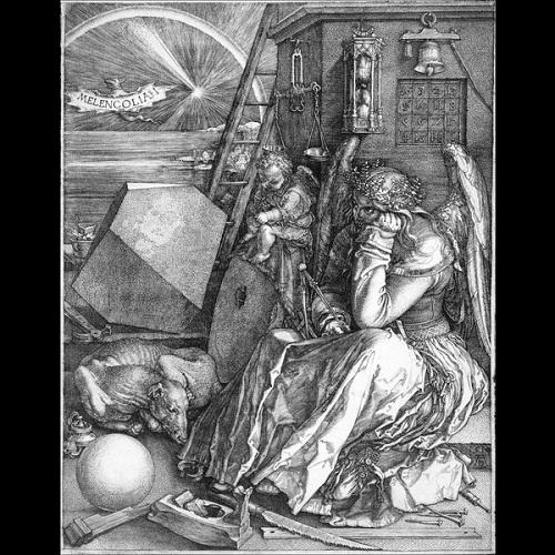 z17345092Q,Albrecht-Durer--Melancholia--Galeria-Albertina-w-Wiedniu