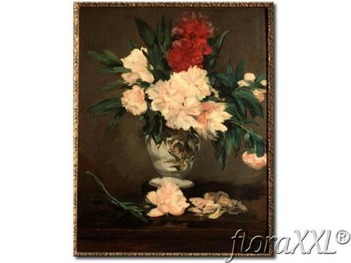 Reprodukcja_Bukiet_z_czerwonych_kwiatow_-_Manet