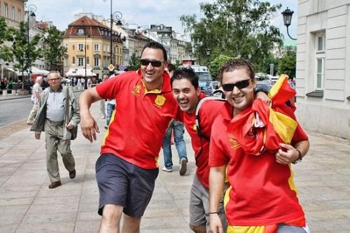 turyści brytyjscy w Warszawie