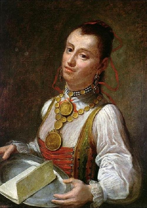 Radziwiłłowski_Portrait_of_Elia